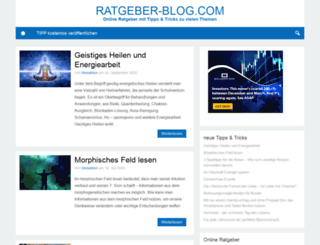 ratgeber-blog.com screenshot