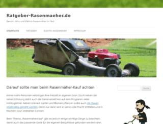 ratgeber-rasenmaeher.de screenshot