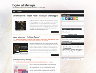 ratgeberblog.blogspot.de screenshot