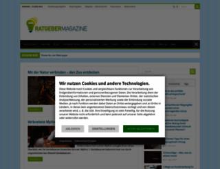 ratgebermagazine.de screenshot