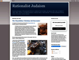 rationalistjudaism.com screenshot