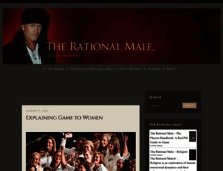 rationalmale.wordpress.com screenshot
