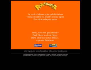 ratolandia.folha.com.br screenshot