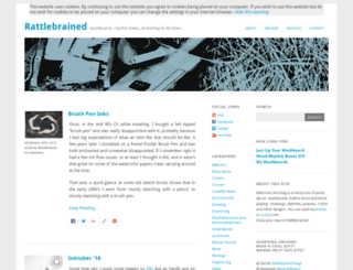 rattlebrained.org screenshot