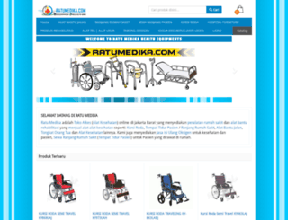 ratumedika.com screenshot