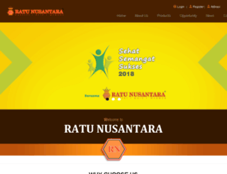 ratunusantara.co.id screenshot
