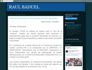 raulbaduel.blogspot.com screenshot