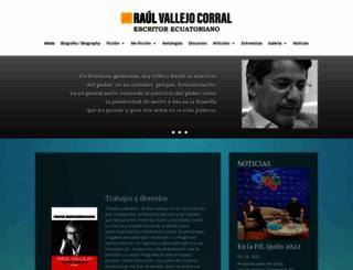 raulvallejo.com screenshot