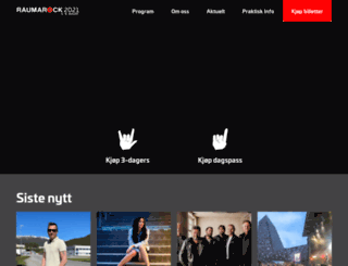 raumarock.com screenshot