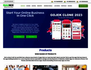 raunix.com screenshot