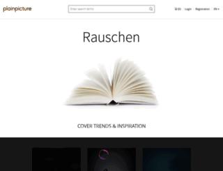 rauschen.plainpicture.com screenshot