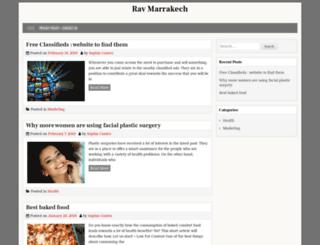 rav-marrakech.com screenshot