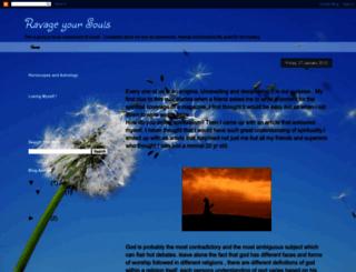 ravageyoursouls.blogspot.com screenshot