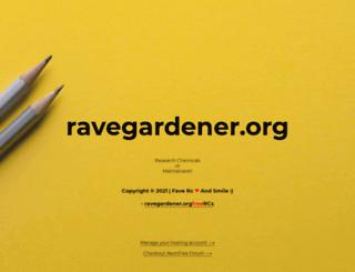 ravegardener.org screenshot