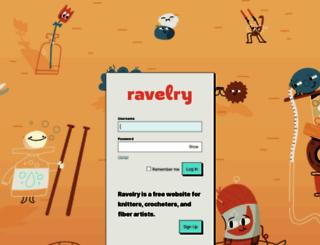 ravelry.com screenshot