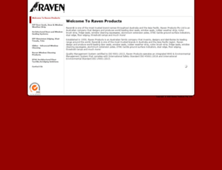 raven.com.au screenshot