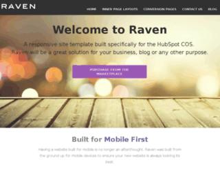 raven.sparkreaction.com screenshot