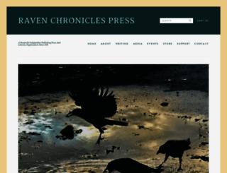 ravenchronicles.org screenshot