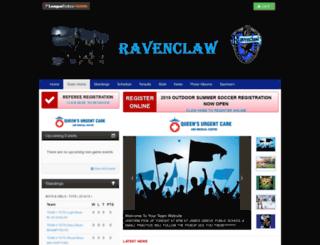 ravenclaw.bramptonnorthsoccer.com screenshot