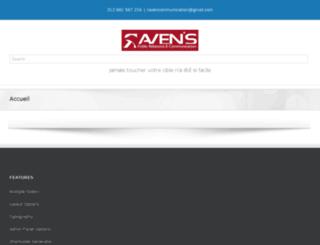 ravencommunication.com screenshot