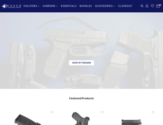 ravenconcealment.com screenshot