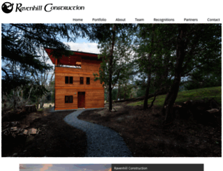 ravenhillconstruction.com screenshot