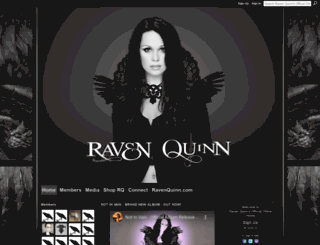 ravenquinn.net screenshot