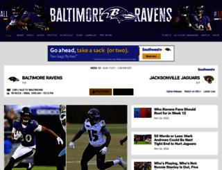 ravens.desksite.com screenshot