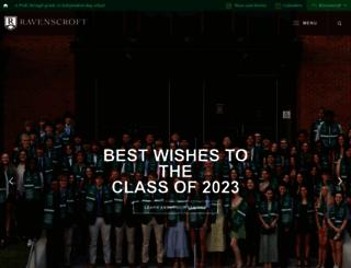 ravenscroft.org screenshot