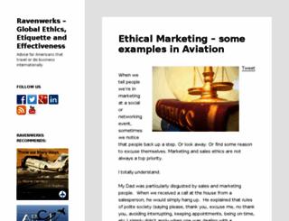 ravenwerks.com screenshot