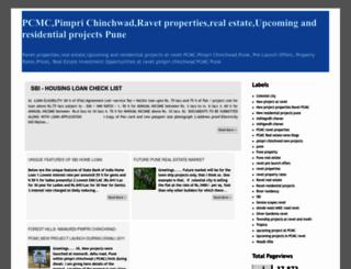 ravetproperties.blogspot.com screenshot