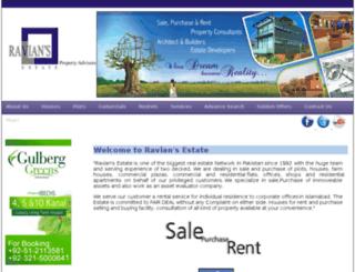 raviansestate.com screenshot