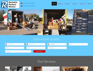 ravindrarelocation.com screenshot