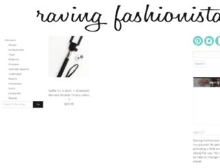 ravingfashionista.nmrkt.com screenshot