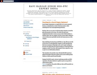 raviranjansingh.blogspot.com screenshot