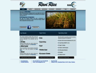 ravirice.com screenshot