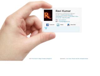 ravisblognet.com screenshot