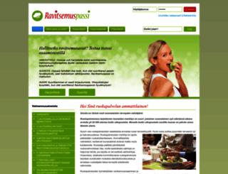 ravitsemuspassi.fi screenshot