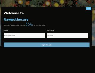 raw-pothecary.com screenshot