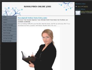 rawalpindionlinejobs.webs.com screenshot