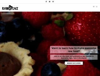 rawandpeace.com.au screenshot