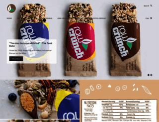 rawcrunchbar.com screenshot