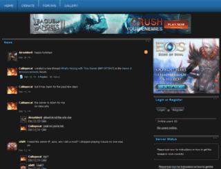 rawfactionspvp.enjin.com screenshot