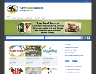 rawfoodsources.com screenshot