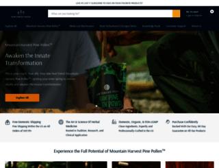 rawforestfoods.com screenshot