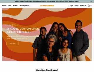 rawganique.com screenshot