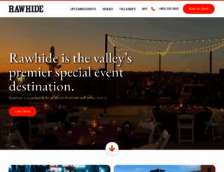 rawhide.com screenshot