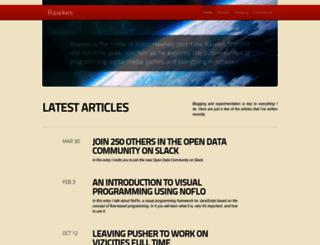 rawkes.com screenshot