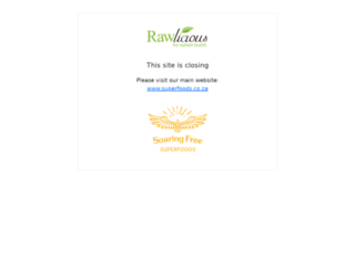 rawlicious.co.za screenshot