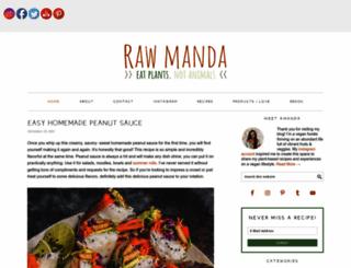 rawmanda.com screenshot